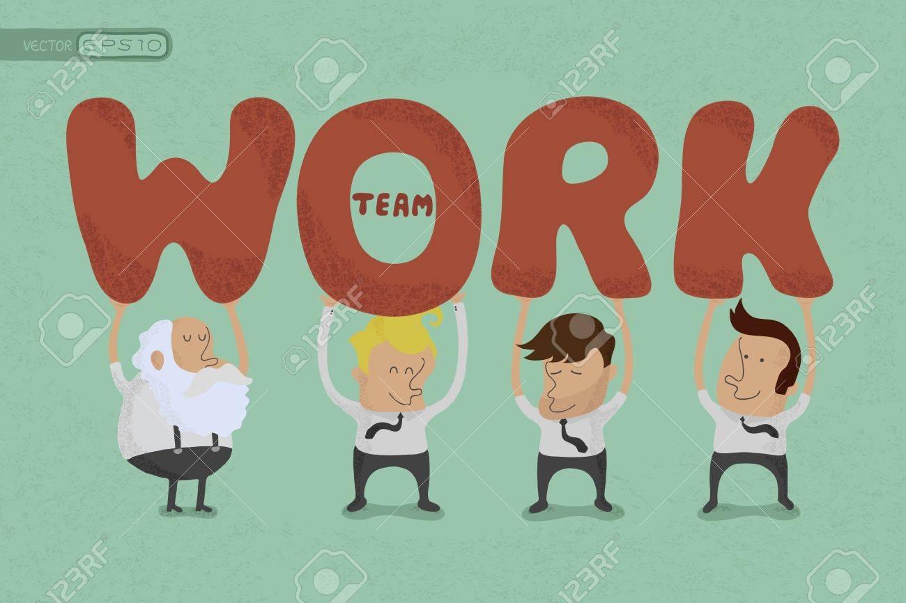 Business teamwork , eps10 vector format Stock Vector - 19718338