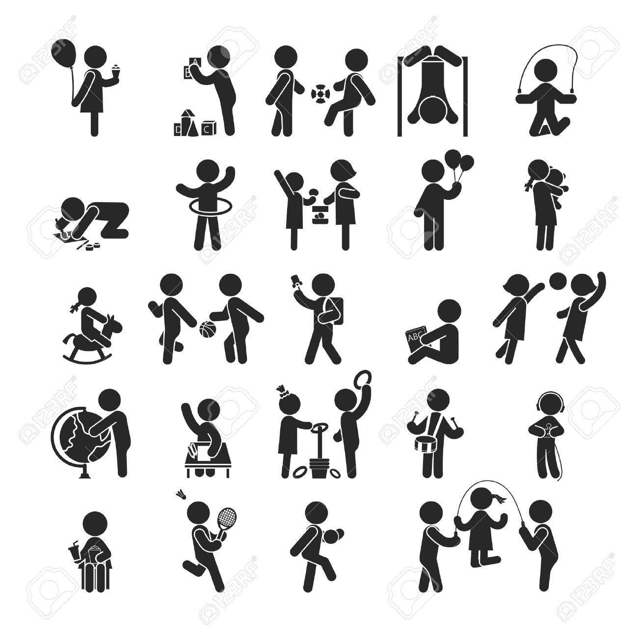 Très Définir Des Activités Pour Enfants Jouer Et Apprendre, Icônes  DK97