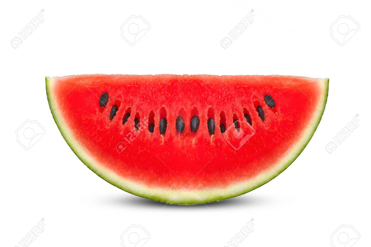 watermelon on white background. - 128971287