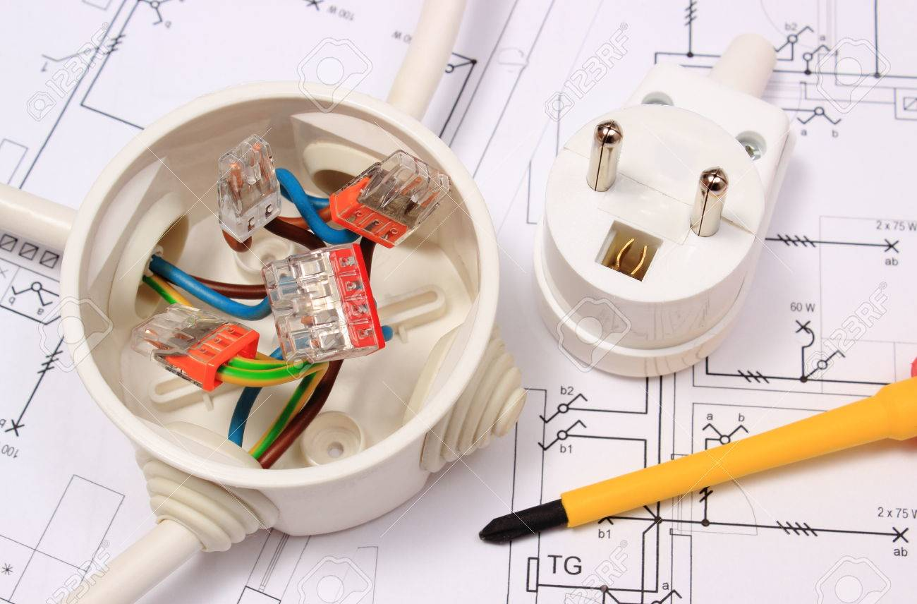 Fantastic Plug In Box Wire Nuts Images - Electrical Diagram Ideas ...