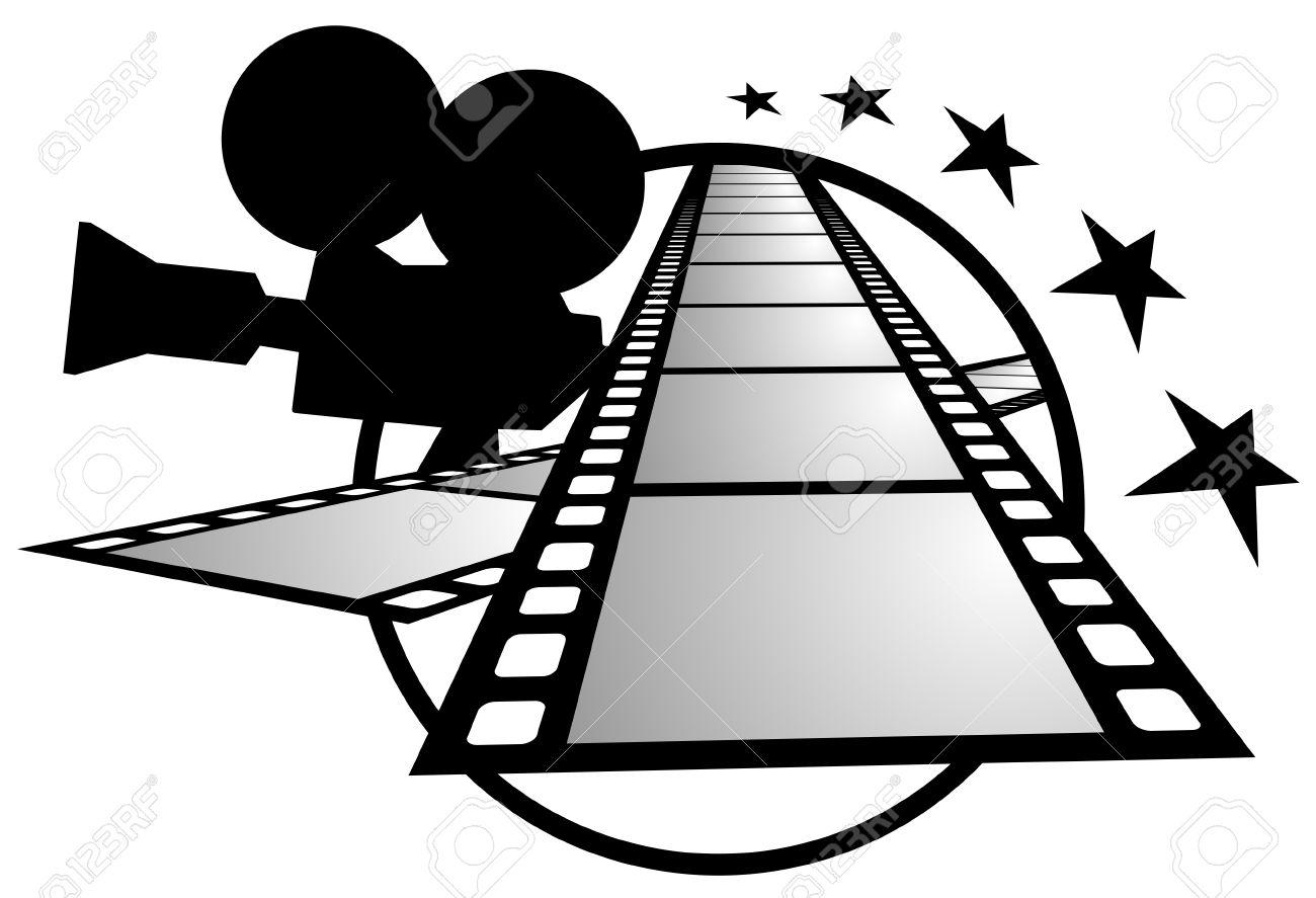 Marcos De Plano Y Cámara De Cine Ilustraciones Vectoriales, Clip Art ...