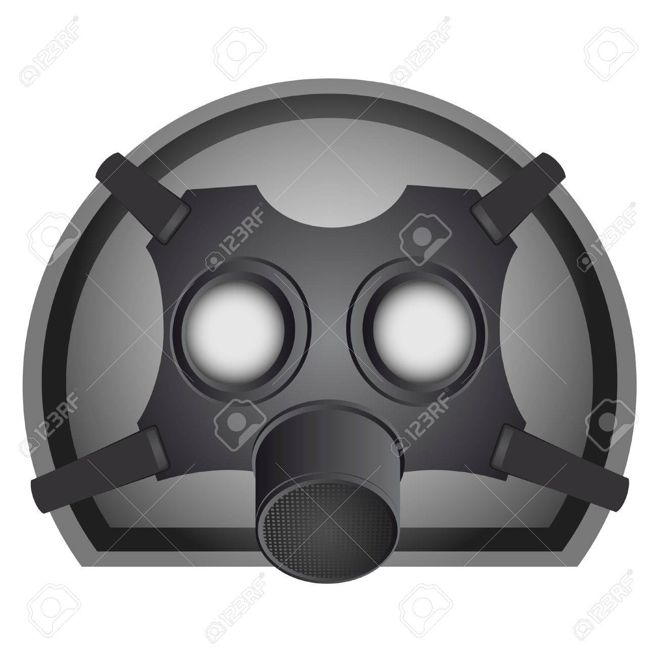 Drawing of a mask to protect against pandemic Stock Vector - 9425440