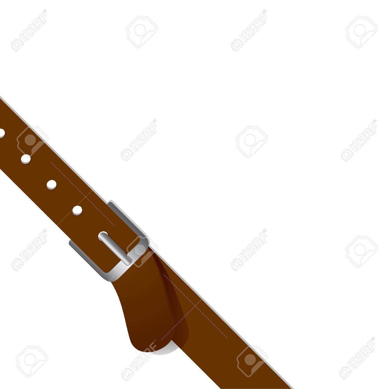 Drawing belt to place it in the corner of a design Stock Vector - 9513761