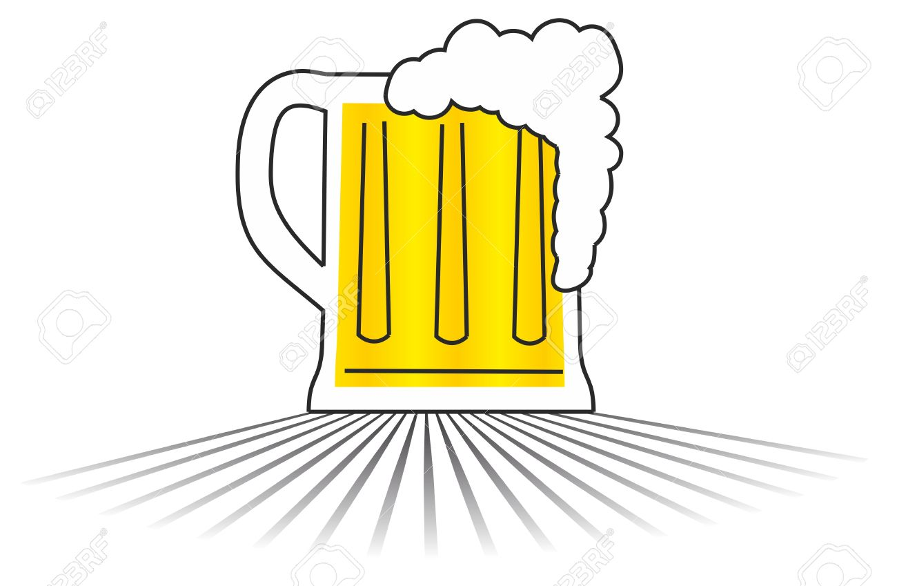 Beer Vector Draw Royalty Free Cliparts Vectors And Stock