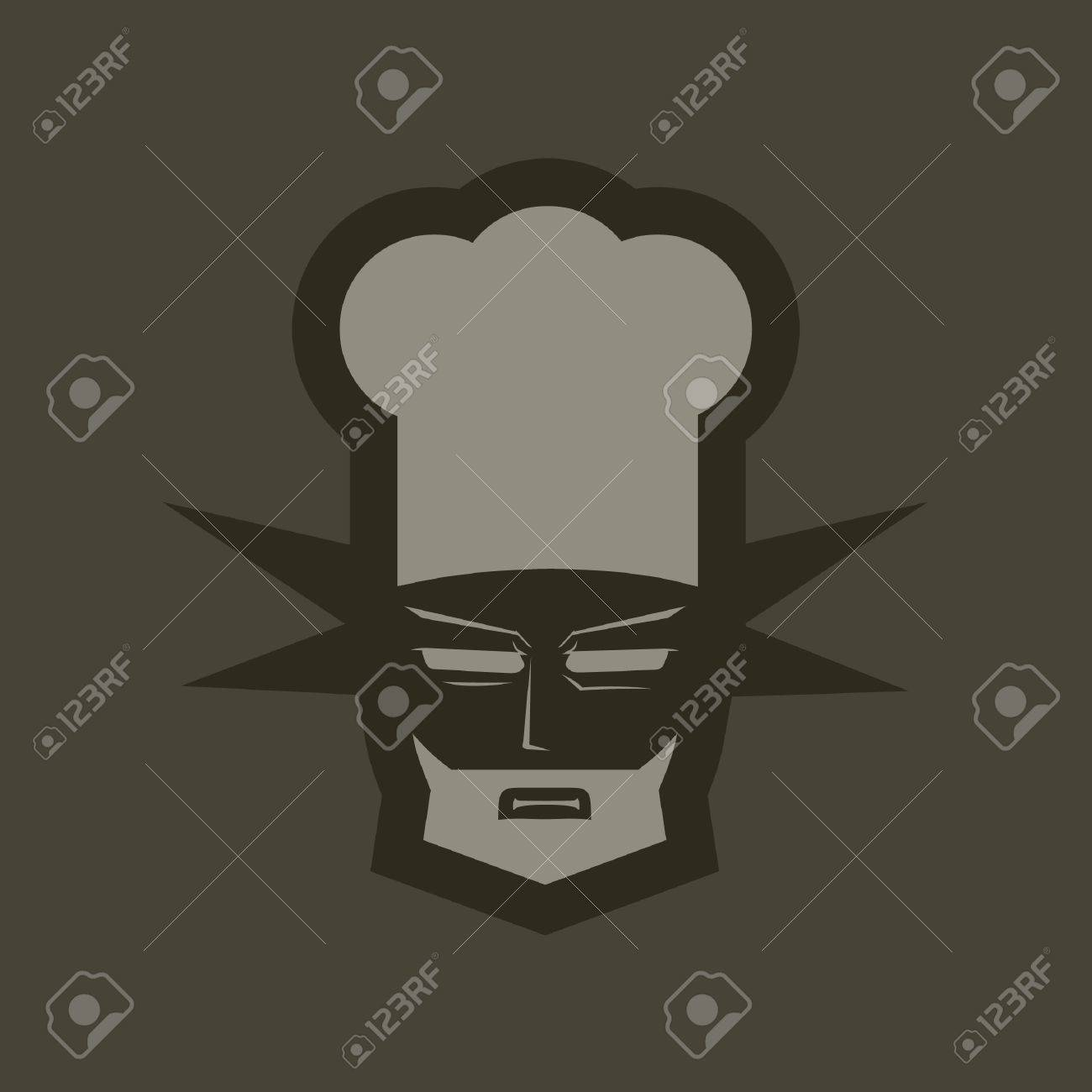 Symbol of professional caterers Stock Vector - 9618726