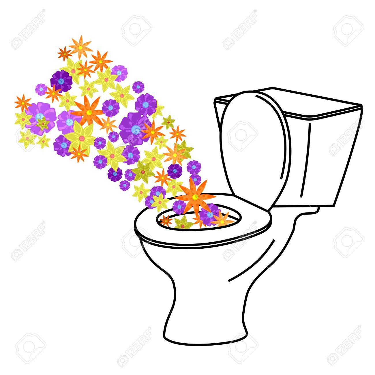 Representation Of A Urinal Clean Stock Vector