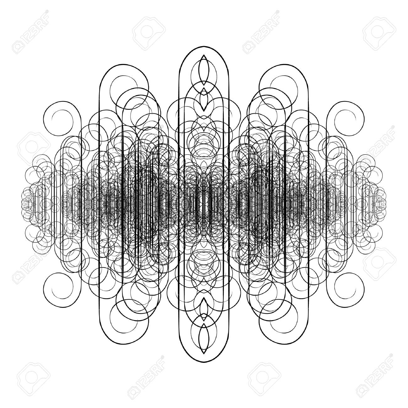 Design of creative decorative element Stock Vector - 9908287