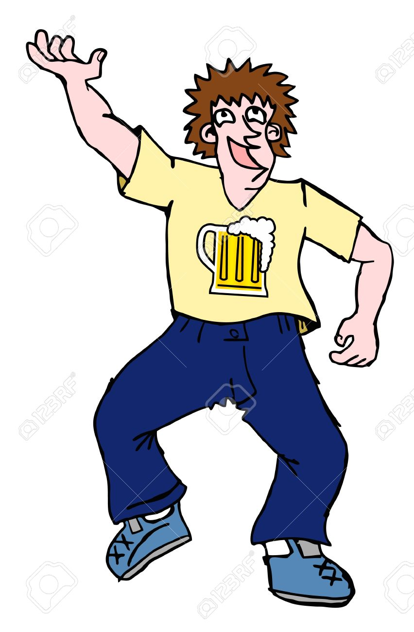 Drunk Men Dancing