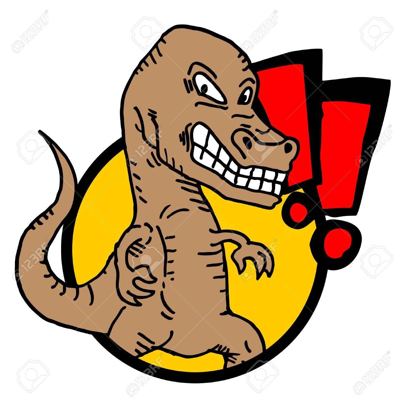Tyrannosaurus rex icon Stock Vector - 11104372