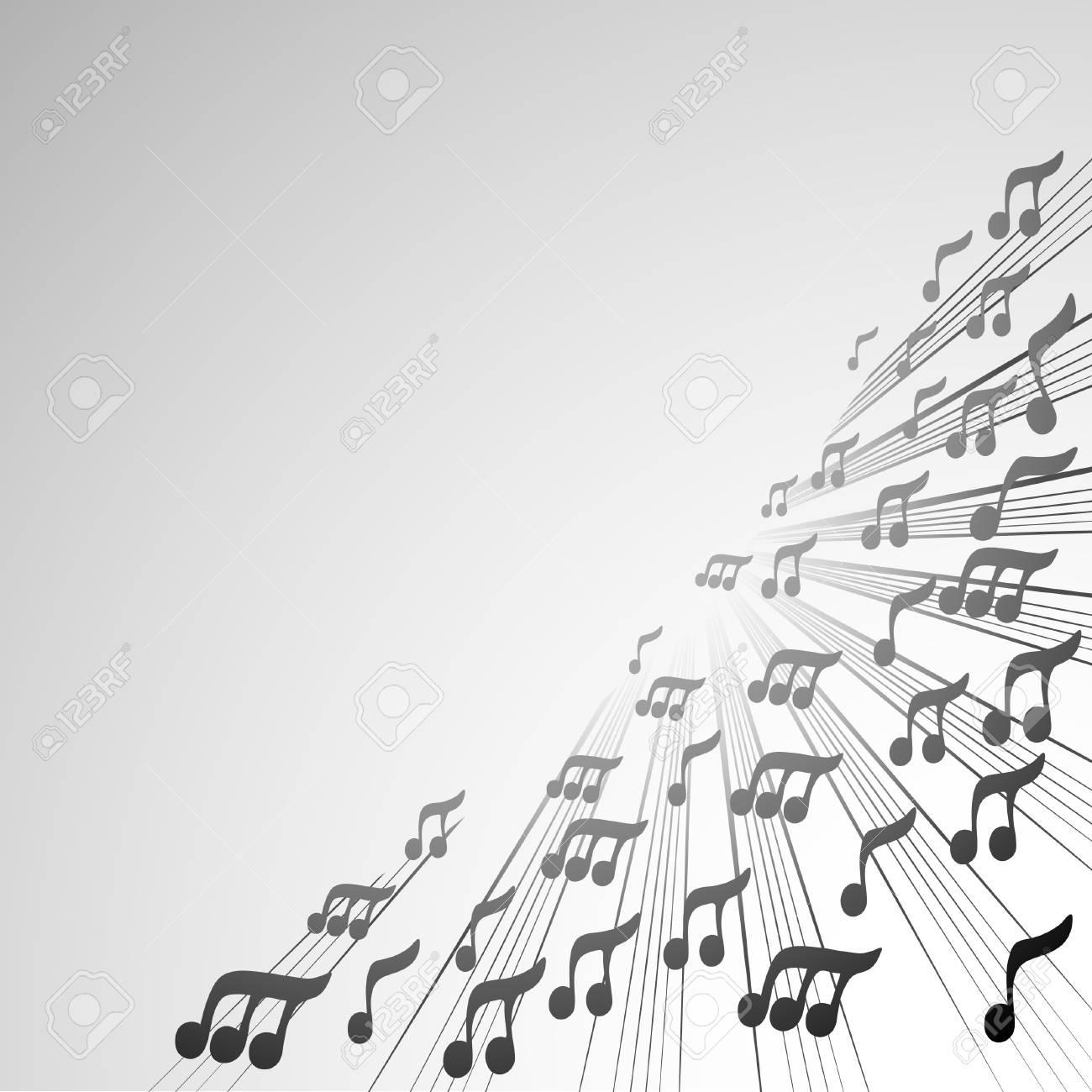 音楽の壁紙のイラスト素材 ベクタ Image 11304095