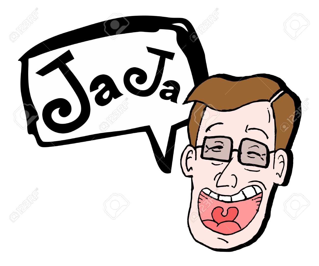 Comedian draw Stock Vector - 11498592