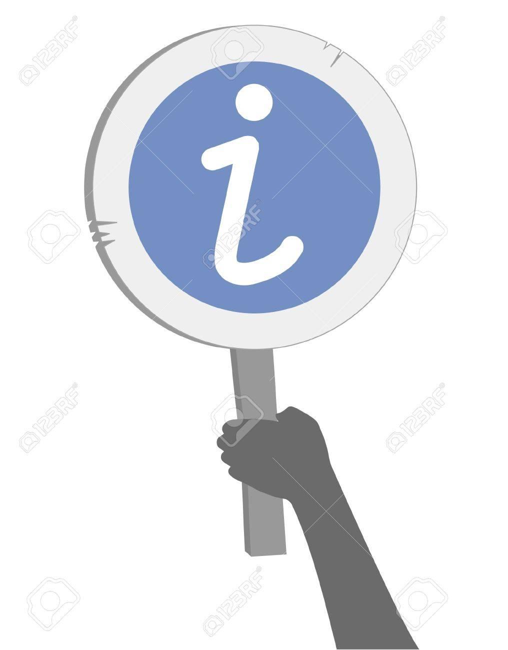 Info sign Stock Vector - 11498716