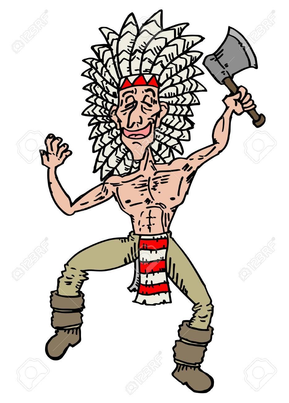 Illustration Of Cartoon Dancing Man Stock Vector