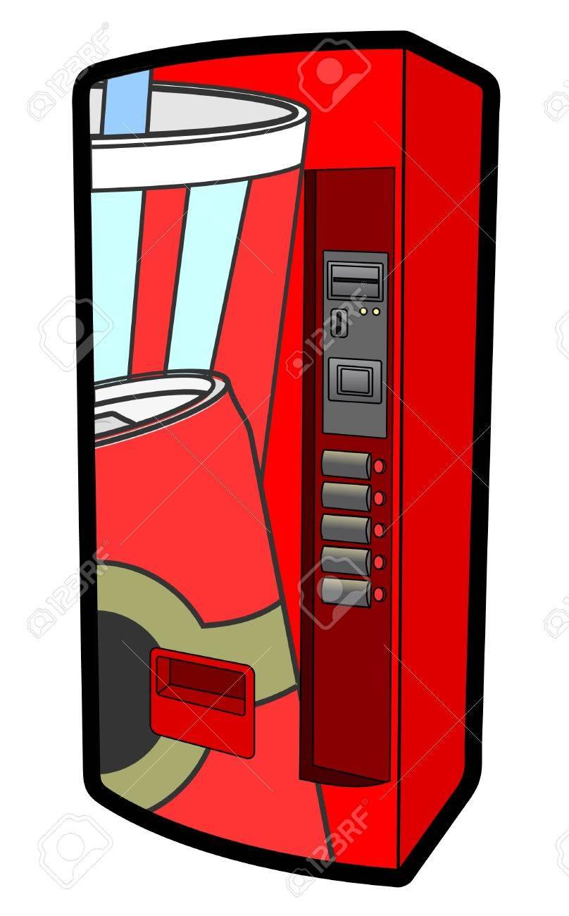 Refresh machine Stock Vector - 12484307