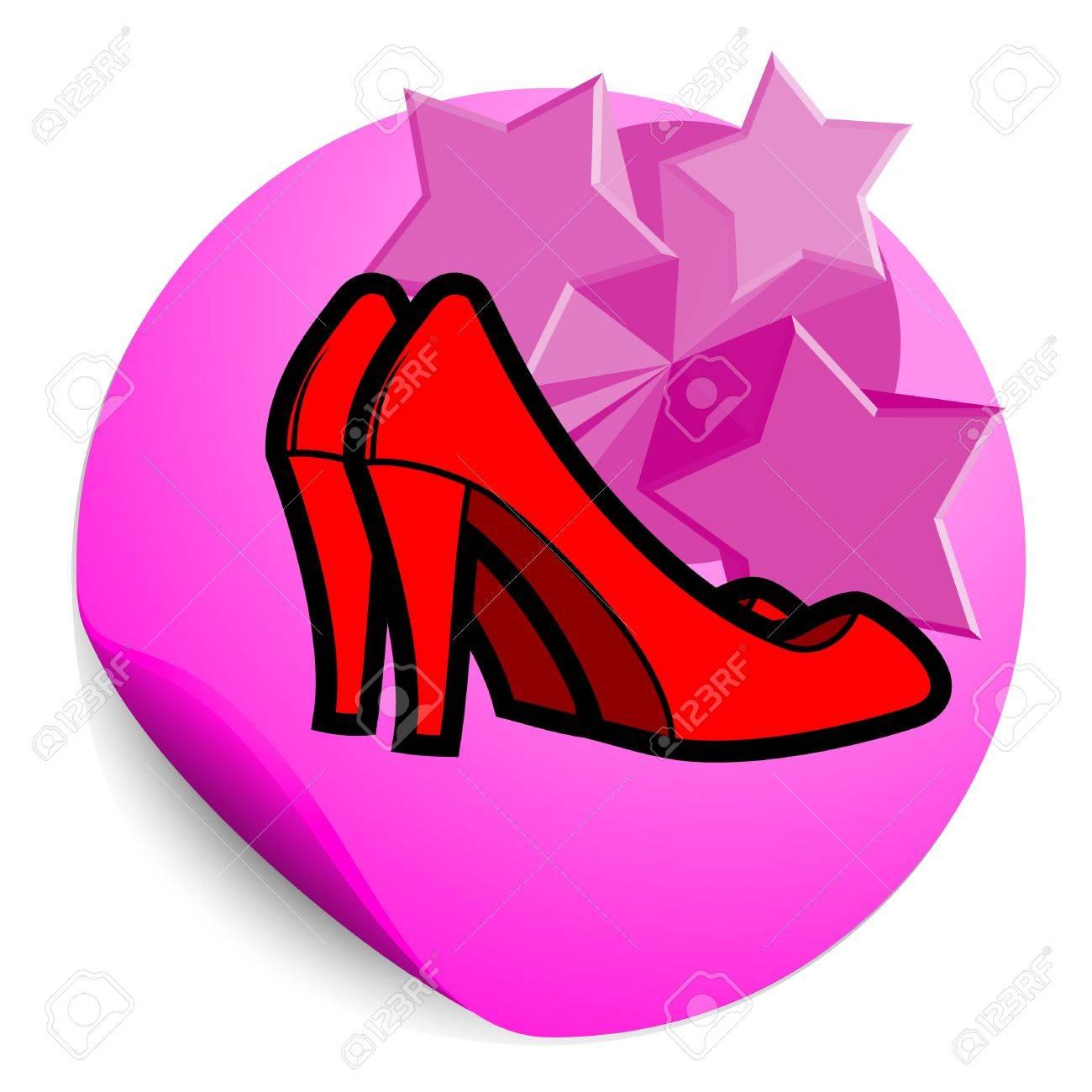 Fashion woman icon Stock Vector - 12496525