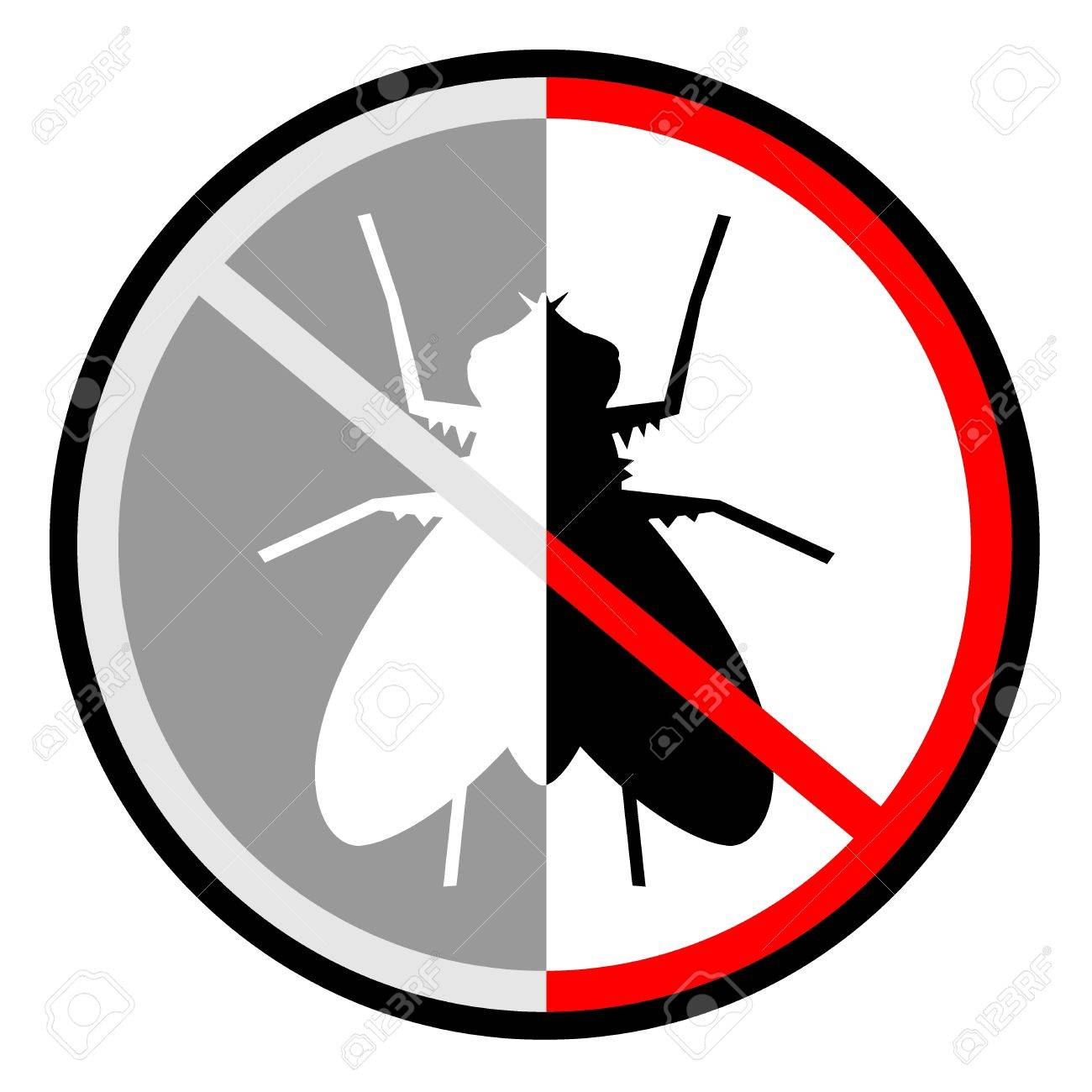 No fly Stock Vector - 12748443