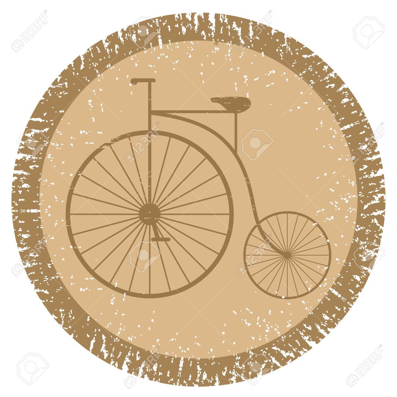 Vintage bicycle Stock Vector - 12811452