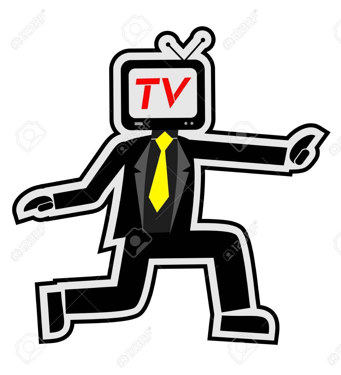 Show TV Stock Vector - 14167771