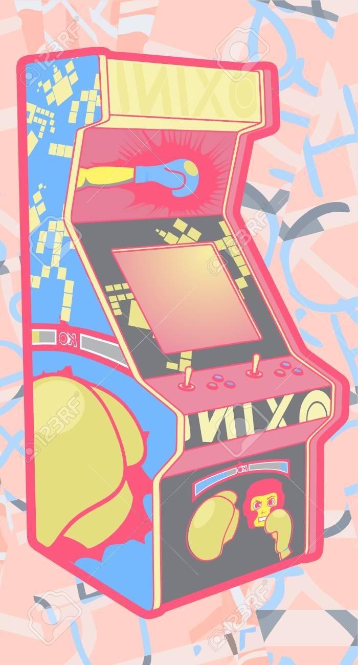 Color retro game Stock Vector - 14167758