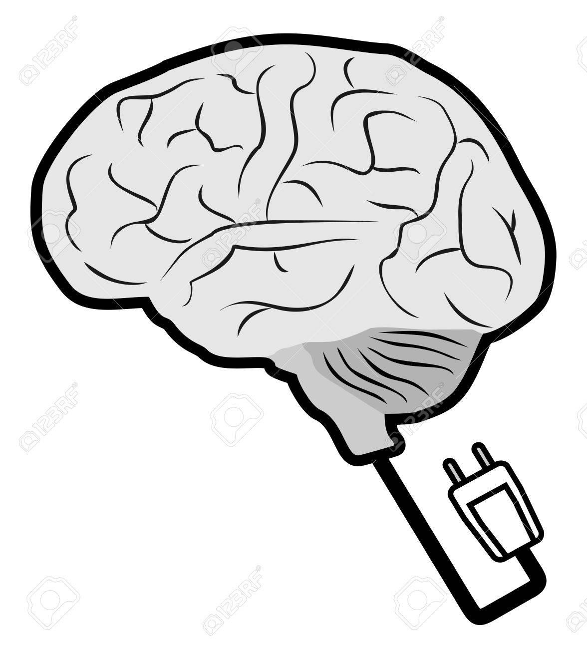 Science brain Stock Vector - 14395009