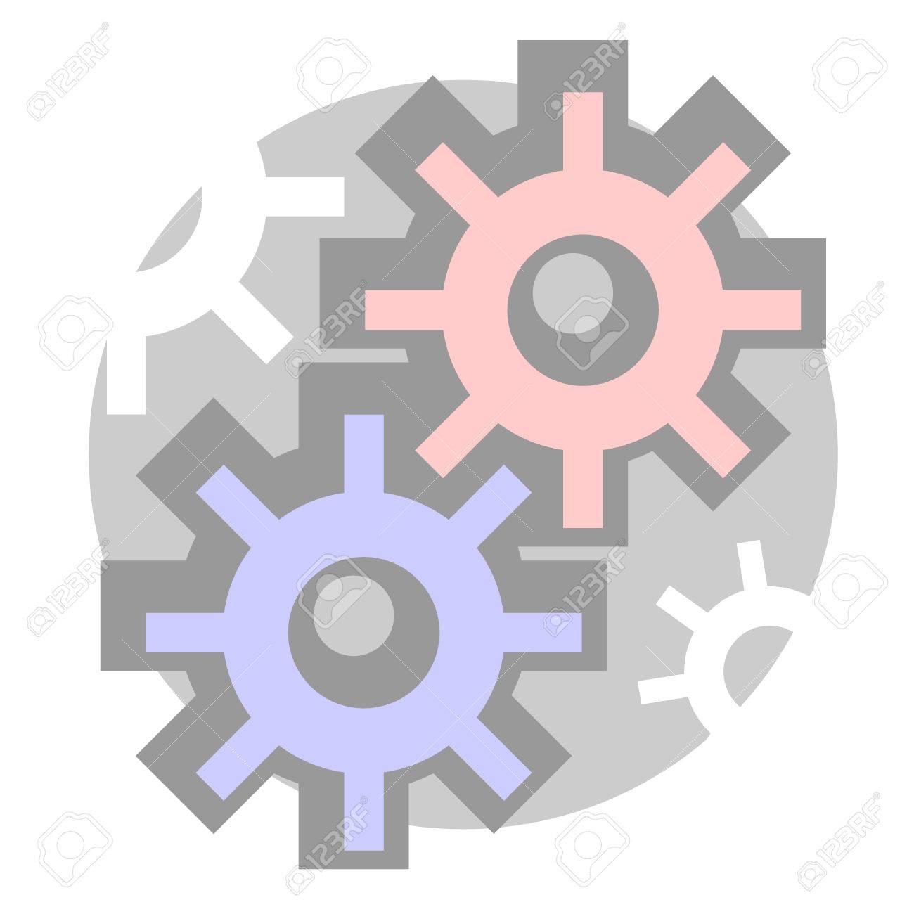 Tech icon Stock Vector - 14399450