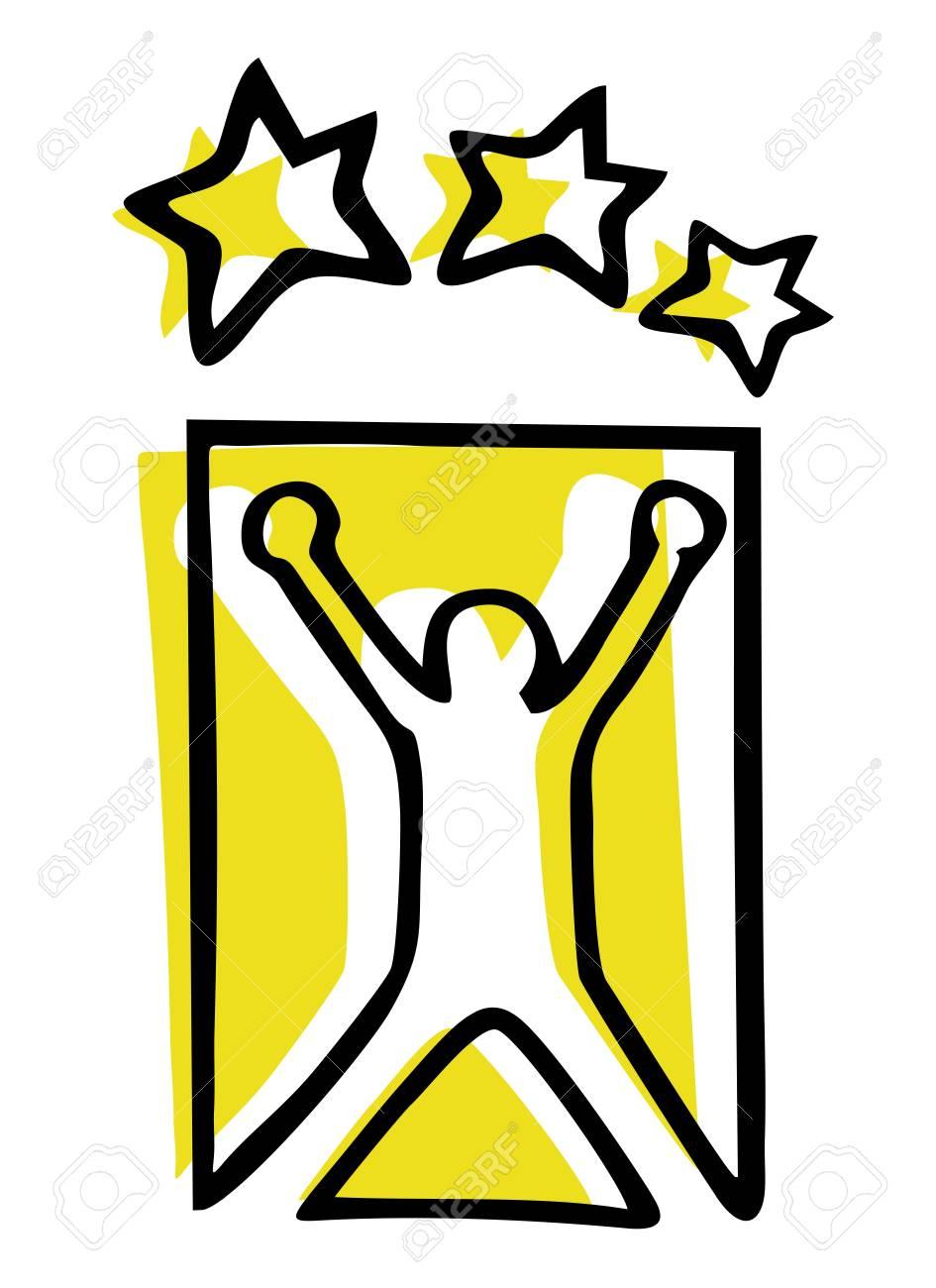 Winner emblem Stock Vector - 14556005