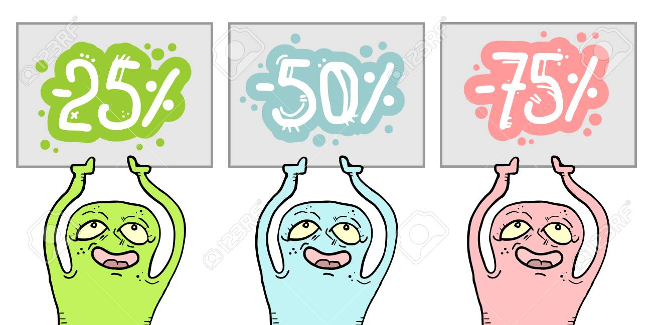 Color offer message Stock Vector - 15291248