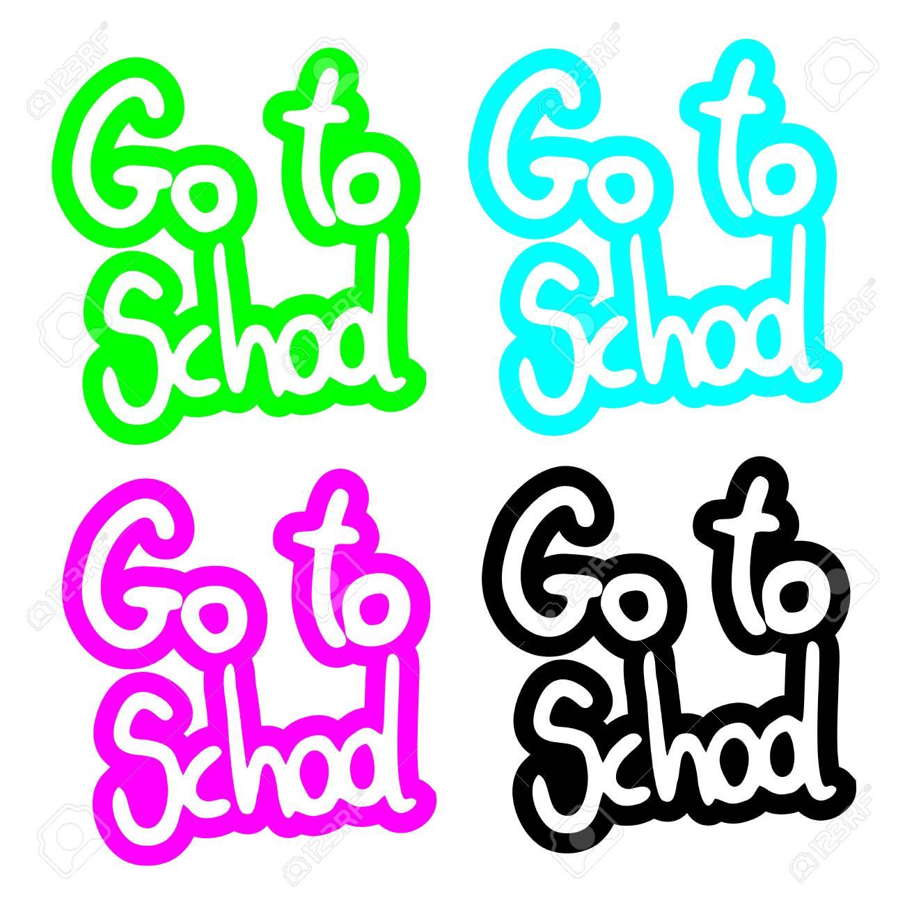 Color school stick Stock Vector - 15340196