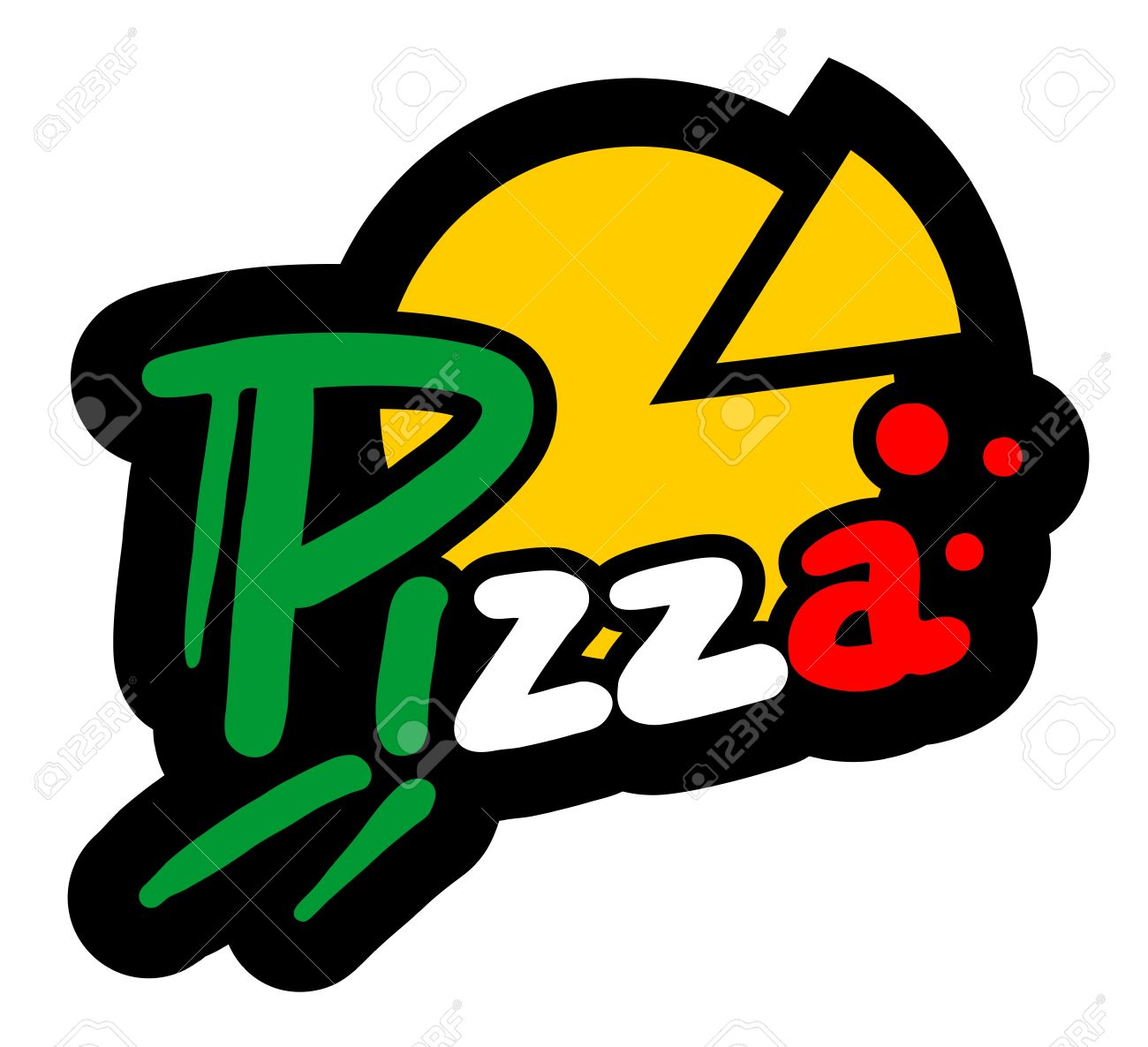 Pizza icon Stock Vector - 15885017