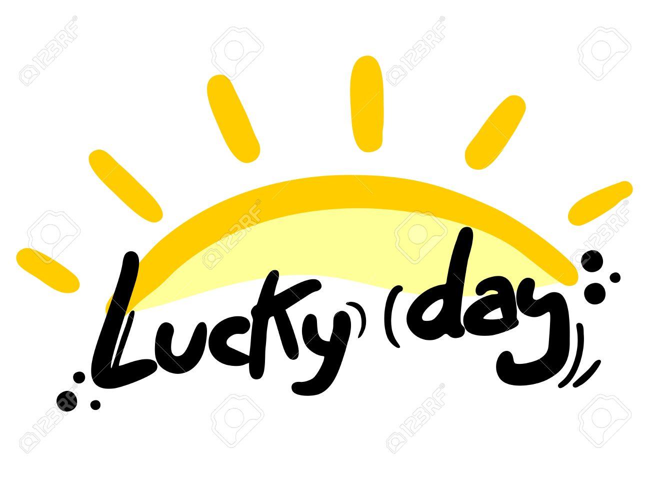 Lucky day sun Stock Vector - 16622325