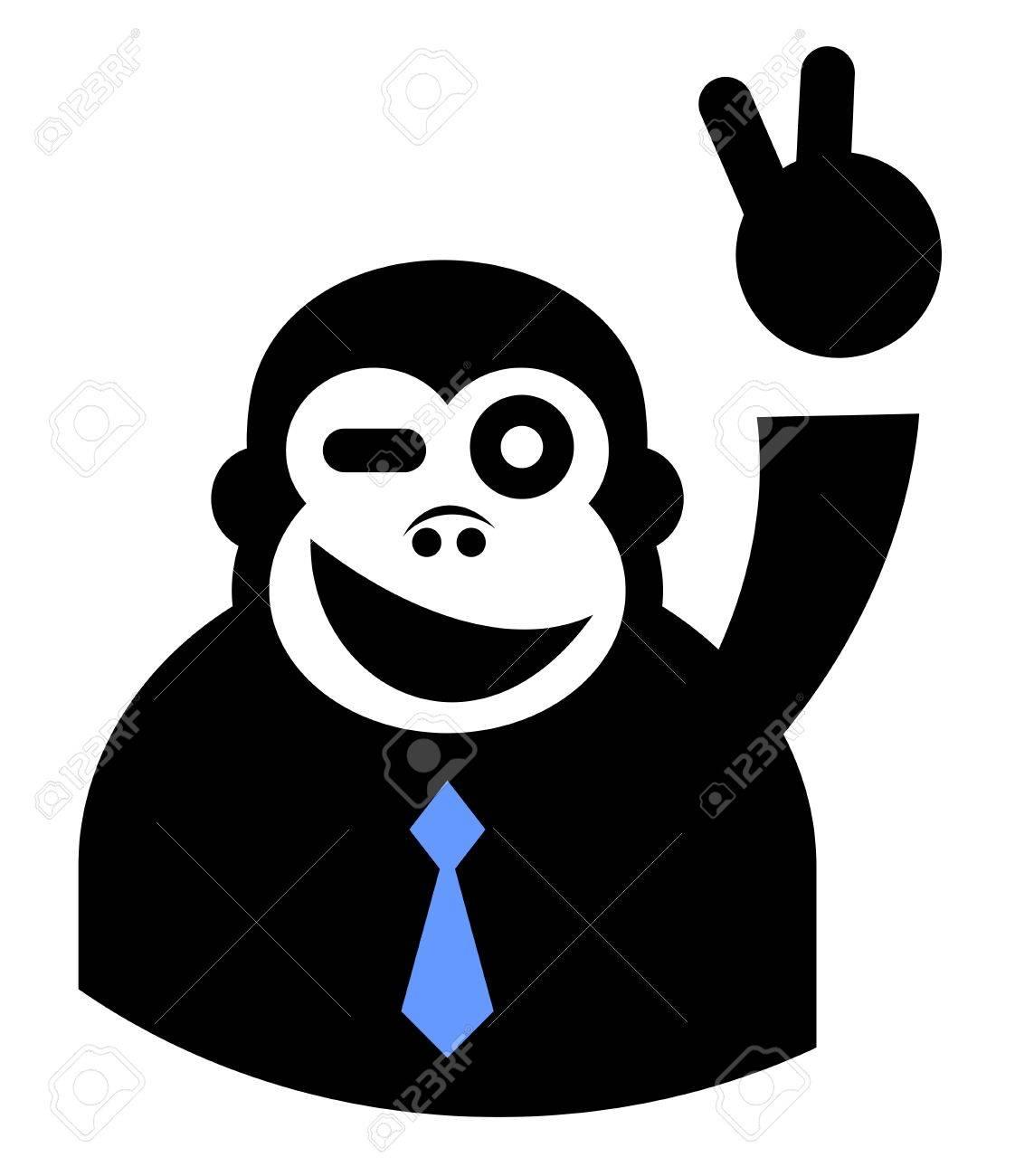 Winner elegant gorilla - 16718251