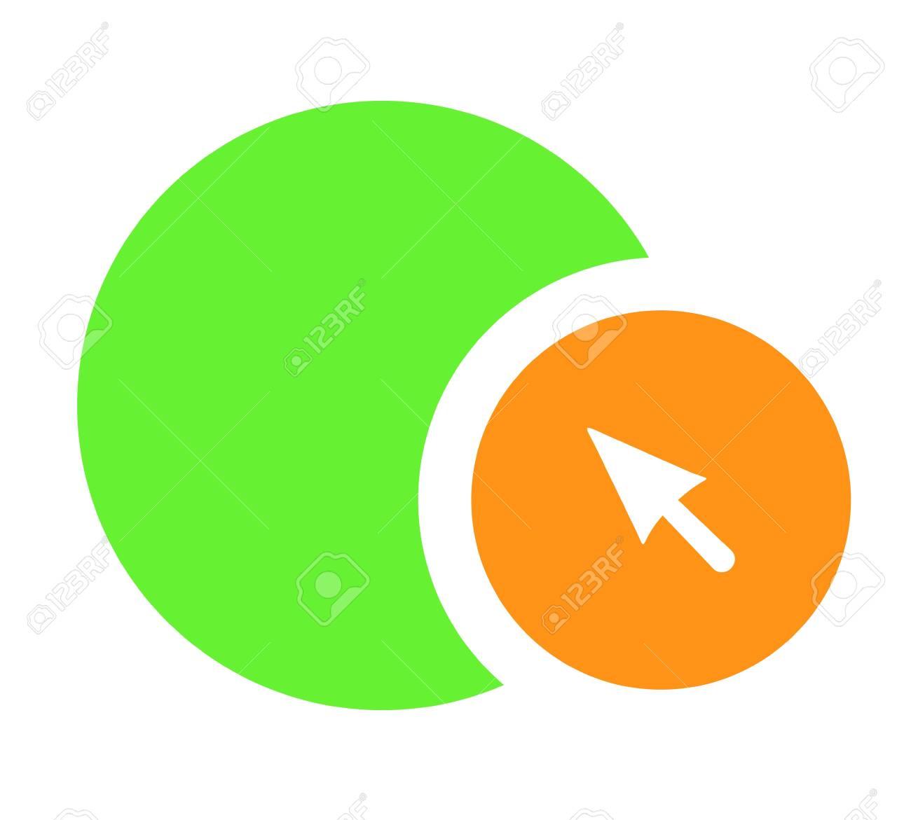 Arrow symbol Stock Vector - 16718220