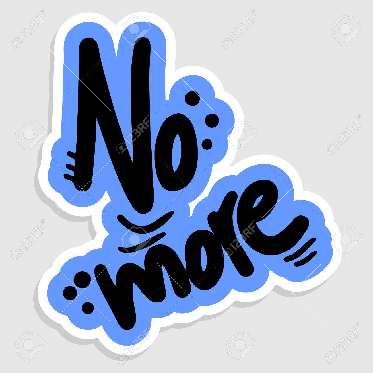 No more graffiti Stock Vector - 16718287