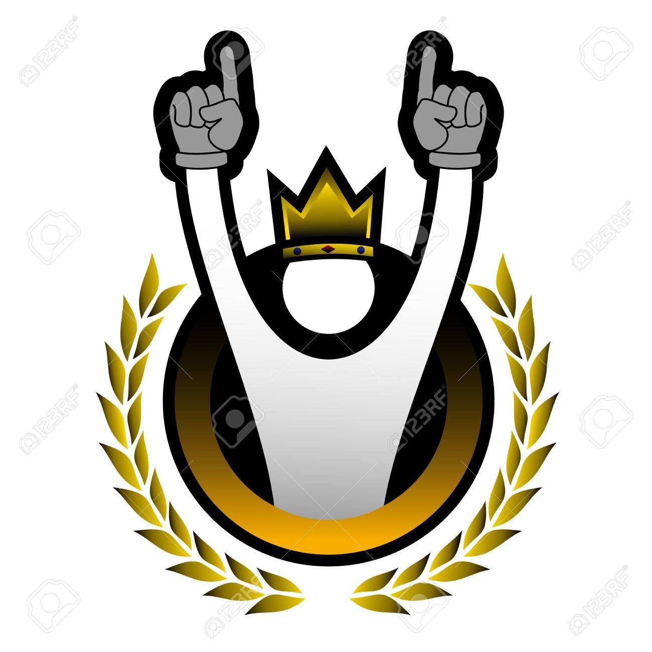Win puppet icon Stock Vector - 16816342