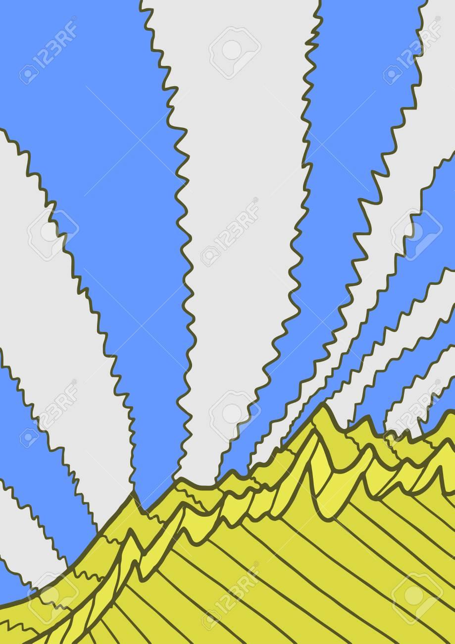 Cover modern scene Stock Vector - 16970614