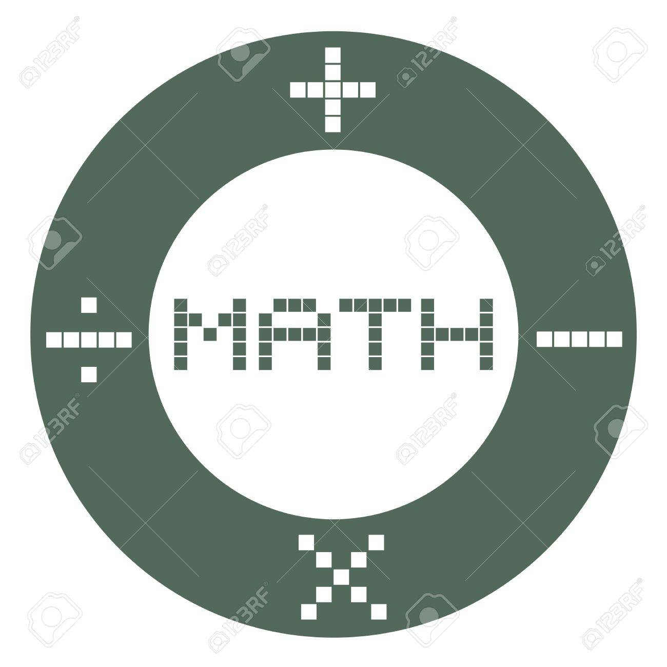 Math sign Stock Vector - 17216094