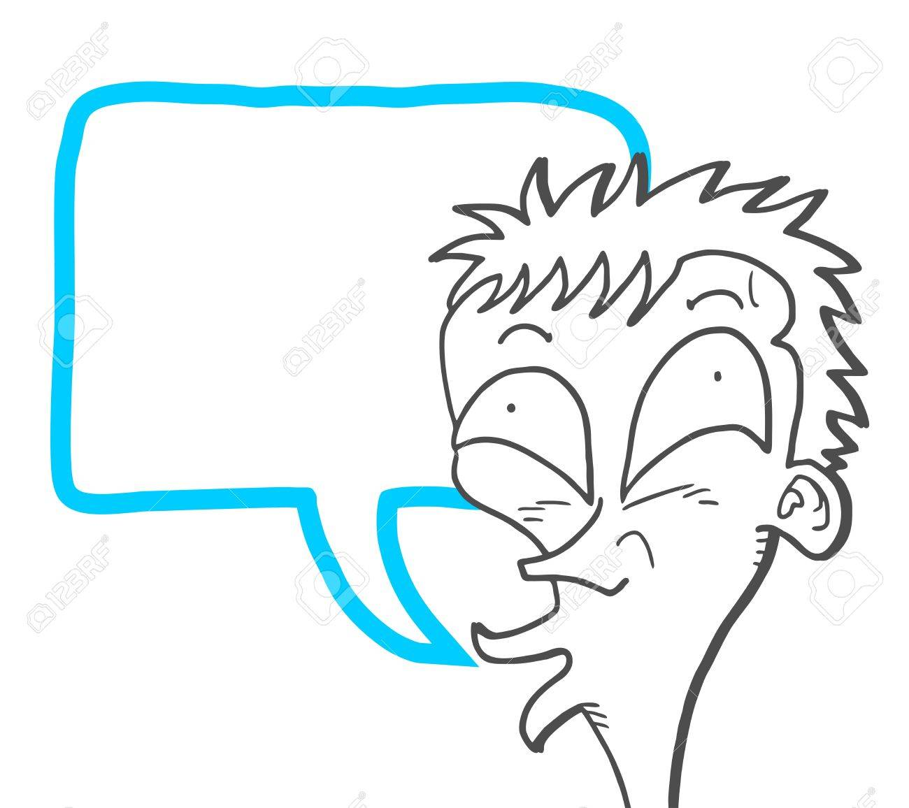 Talking draw Stock Vector - 17509491