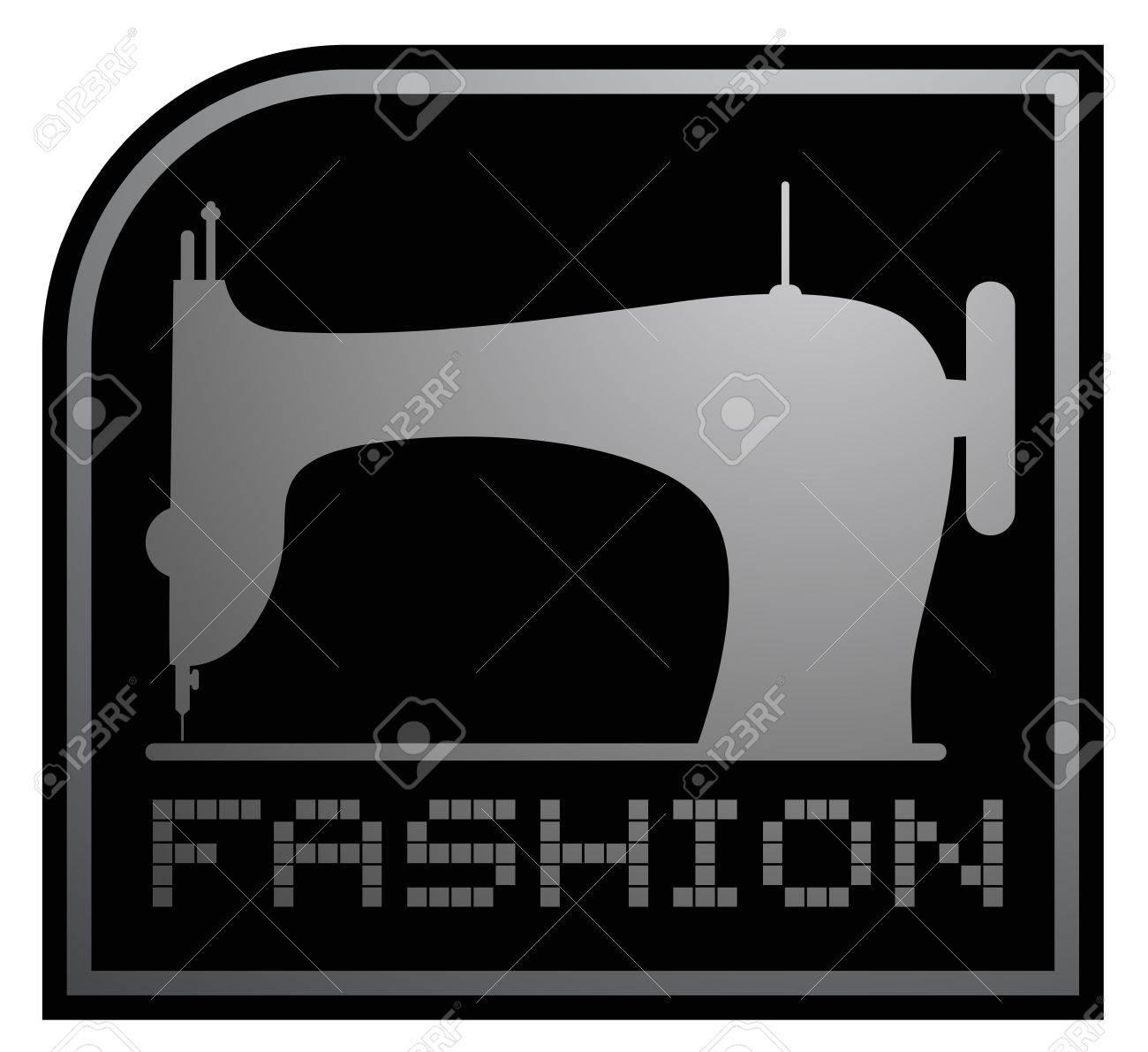 Fashion emblem Stock Vector - 17701231