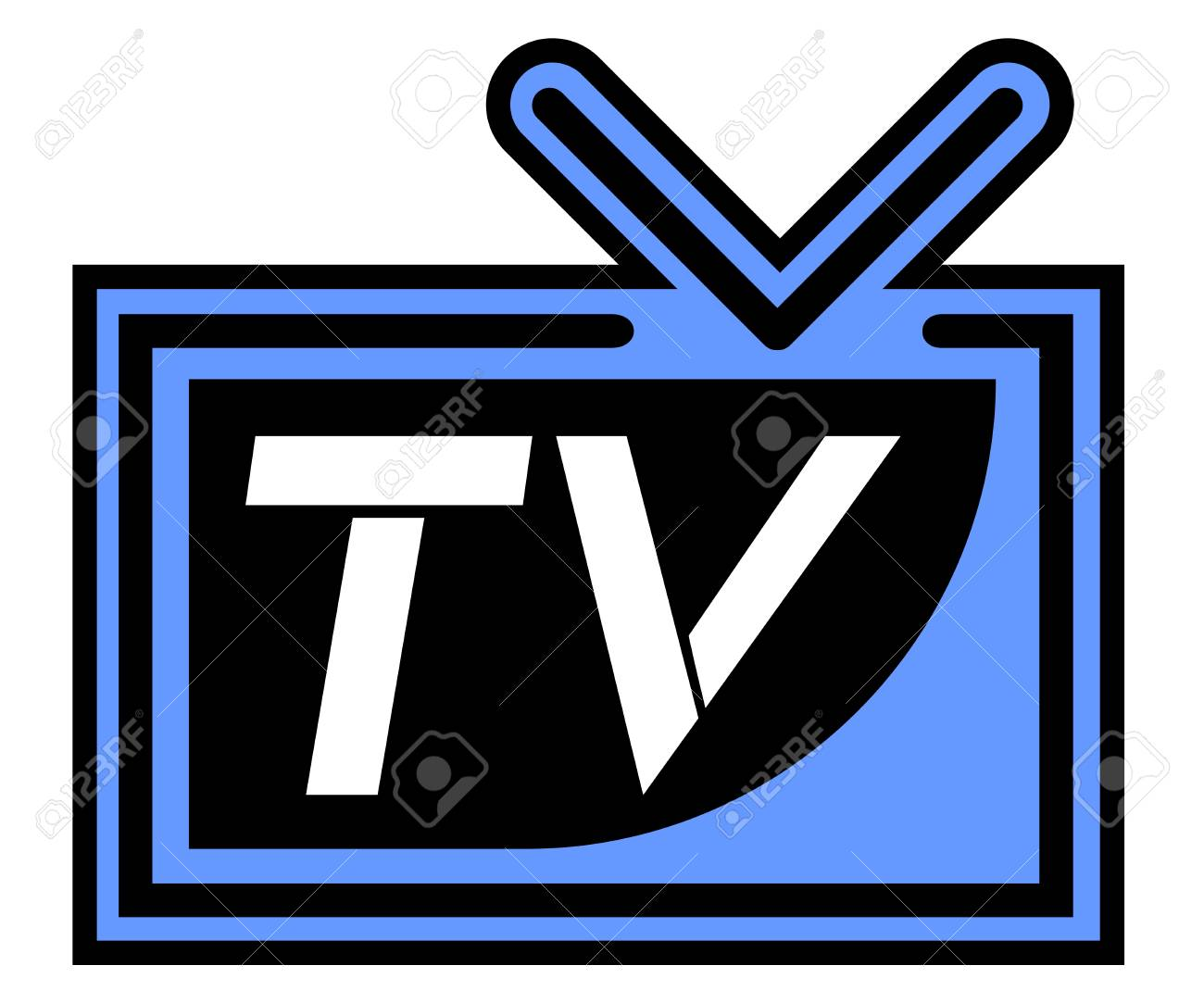 Television symbol Stock Vector - 17902497