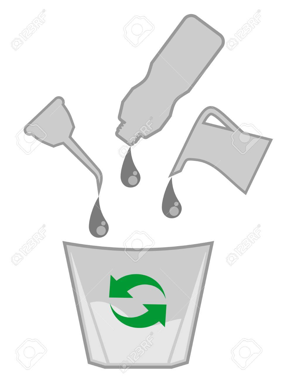 Recycle oil Stock Vector - 18215569
