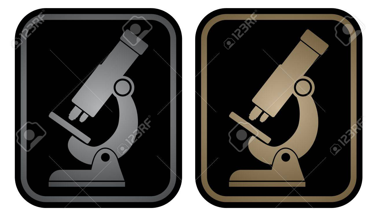 Elegant science emblem Stock Vector - 18215592