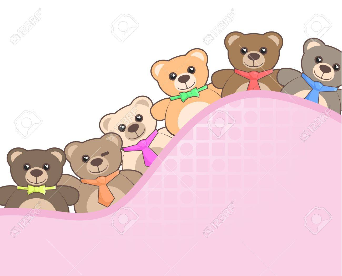 Friends bears Stock Vector - 18633341
