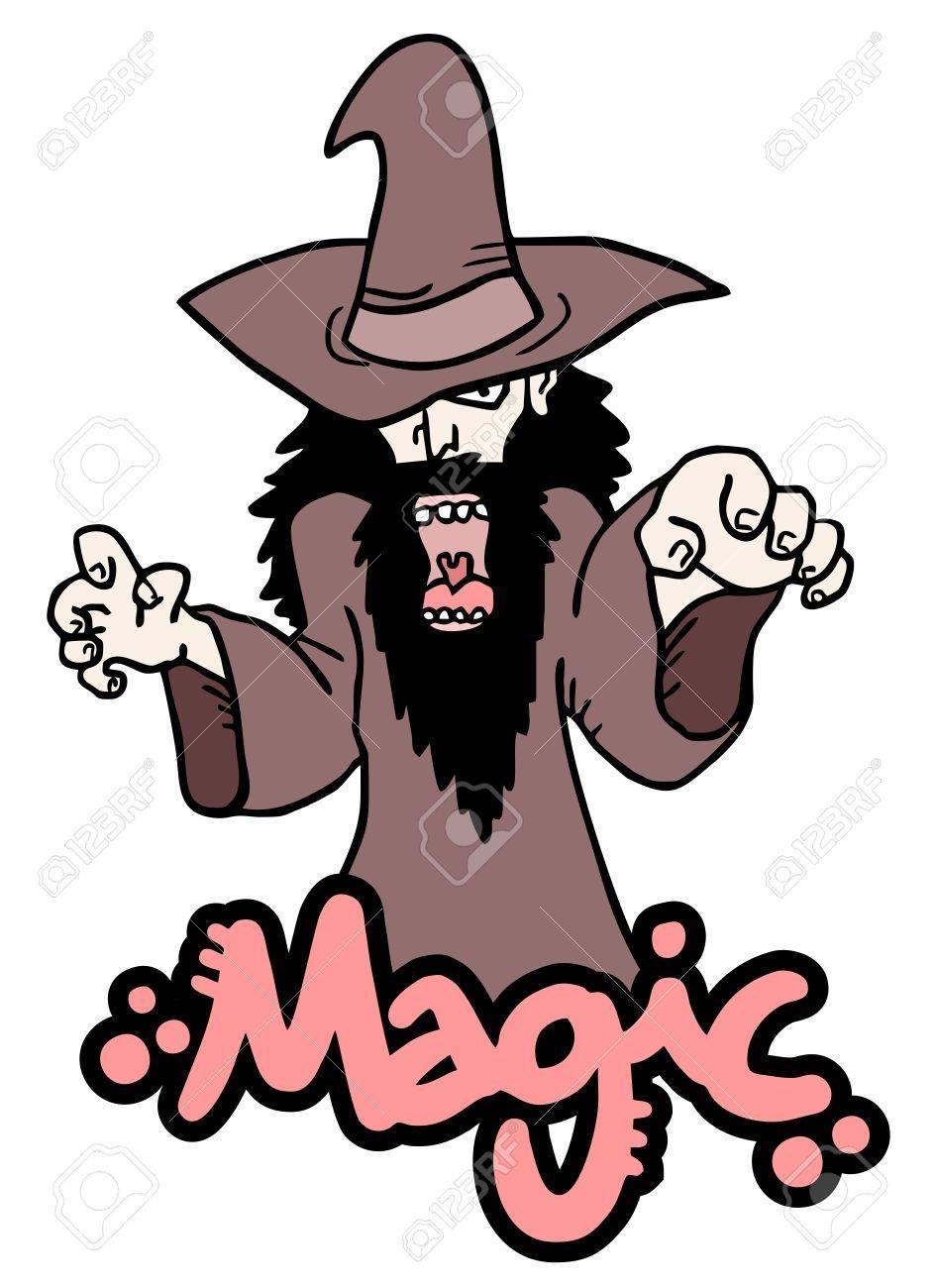 Evil magic Stock Vector - 18633384