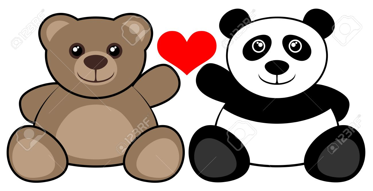 Love bear royalty free cliparts vectors and stock illustration love bear stock vector 18617421 voltagebd Images