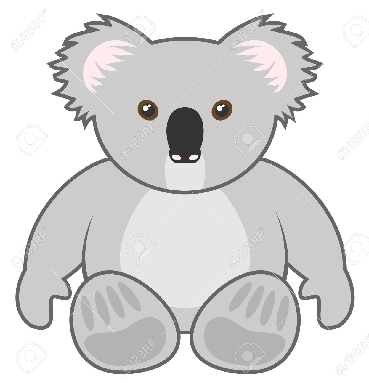 Uncategorized Draw Koala koala draw royalty free cliparts vectors and stock illustration vector 18764498