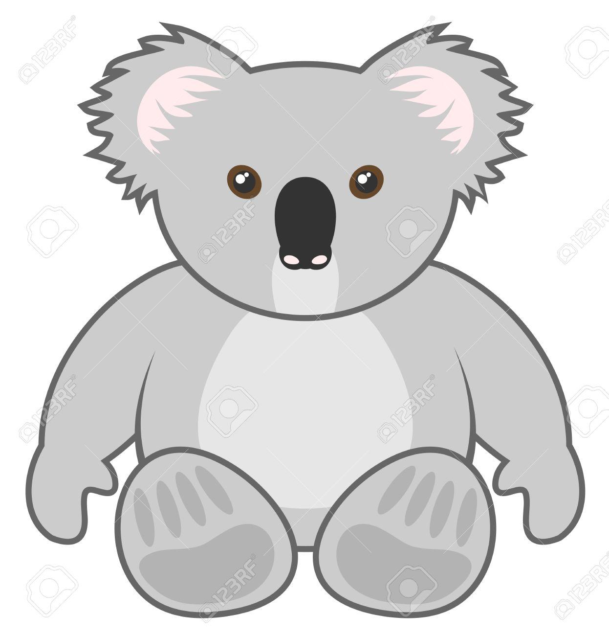 Koala Draw Royalty Free Cliparts Vectors And Stock Illustration