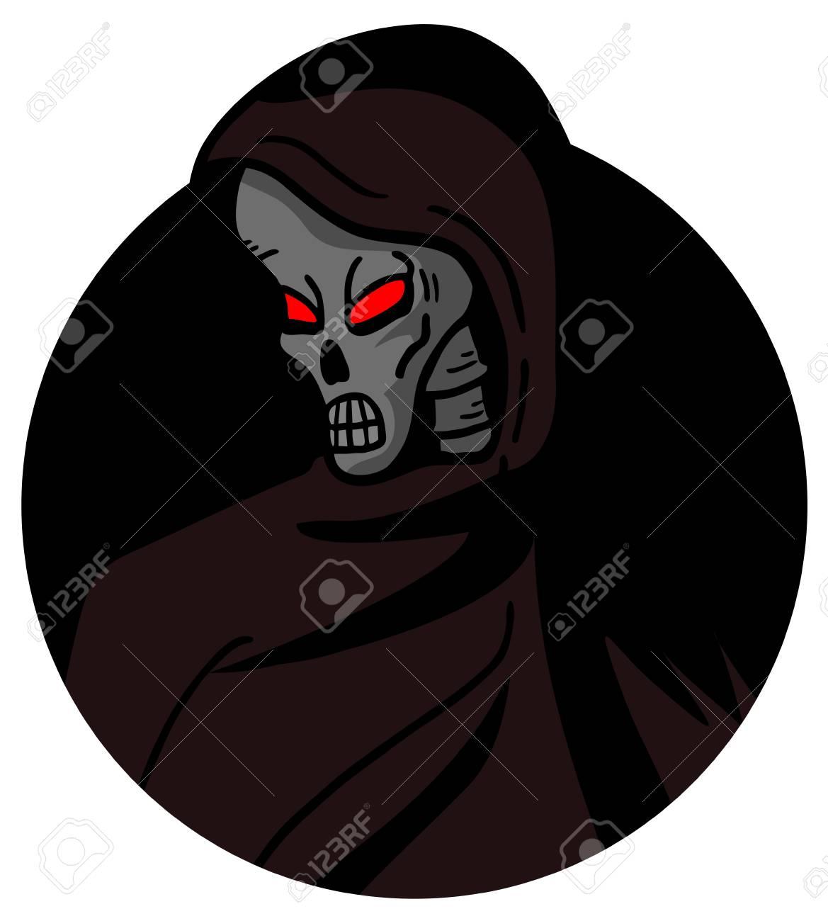Skull horror Stock Vector - 18967248