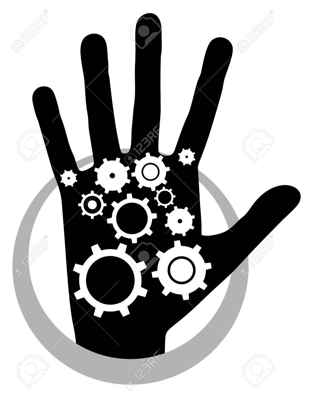 Tech human Stock Vector - 19318466