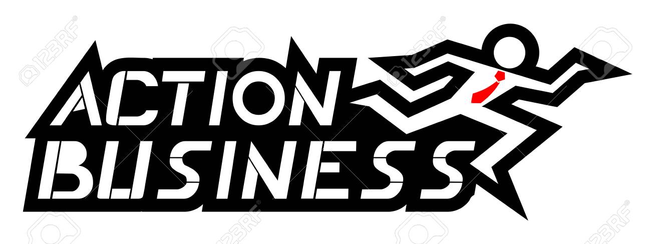 Action business Stock Vector - 19699667