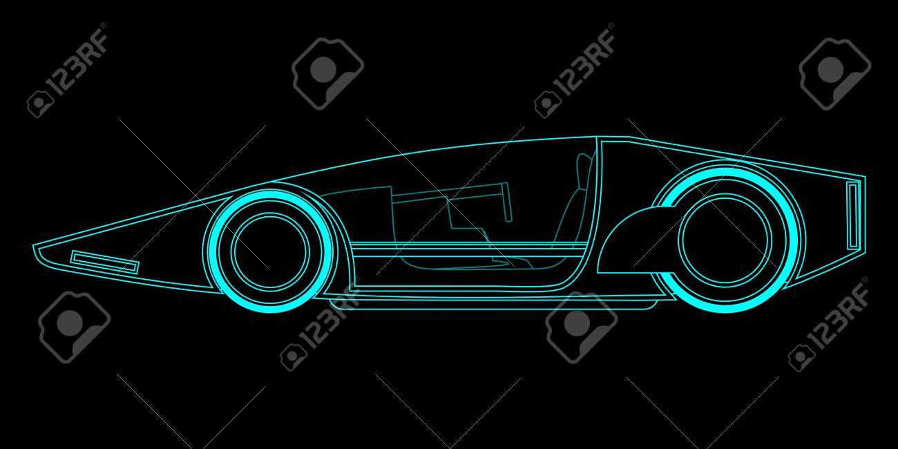 Creative future vehicle Stock Vector - 19858471